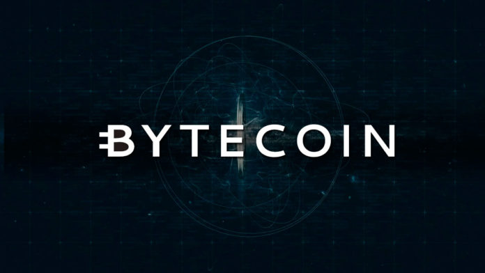 Grafica actual del Bytecoin