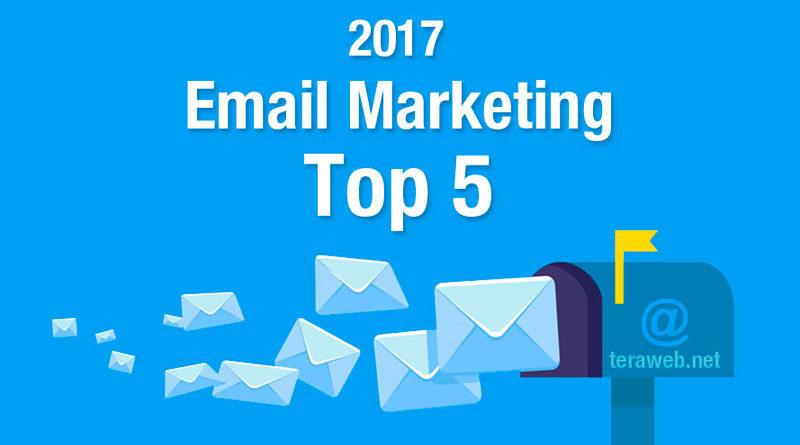 Las 5 mejores plataformas de email marketing 2017