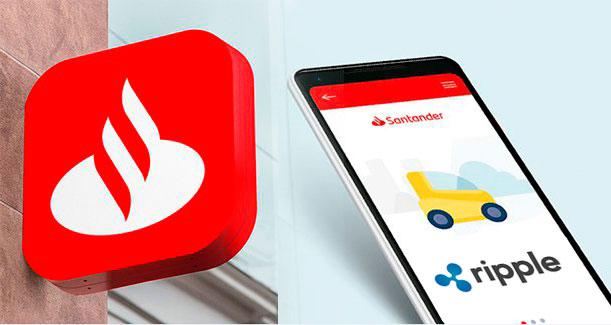 Santander lanza el primer servicio internacional de transferencia de dinero basado en blockchain