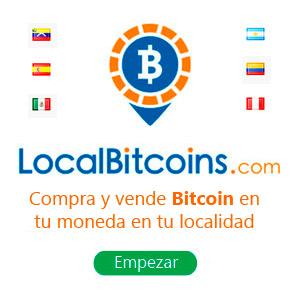 Compra y vende Bitcoin en tu moneda
