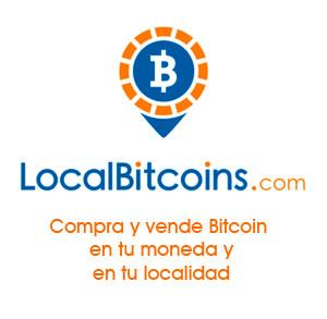 Compra y vende Bitcoin en tu localidad y en tu moneda
