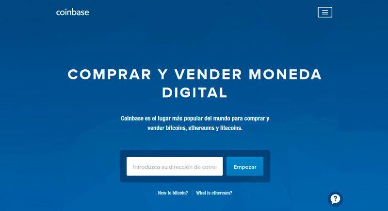Cómo comprar Bitcoins con Coinbase
