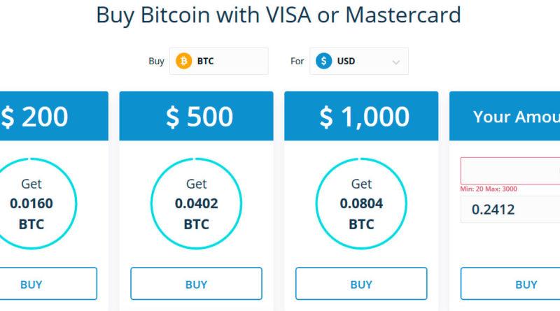 Como comprar Bitcoin con tarjeta de credito y debito en CEX.io