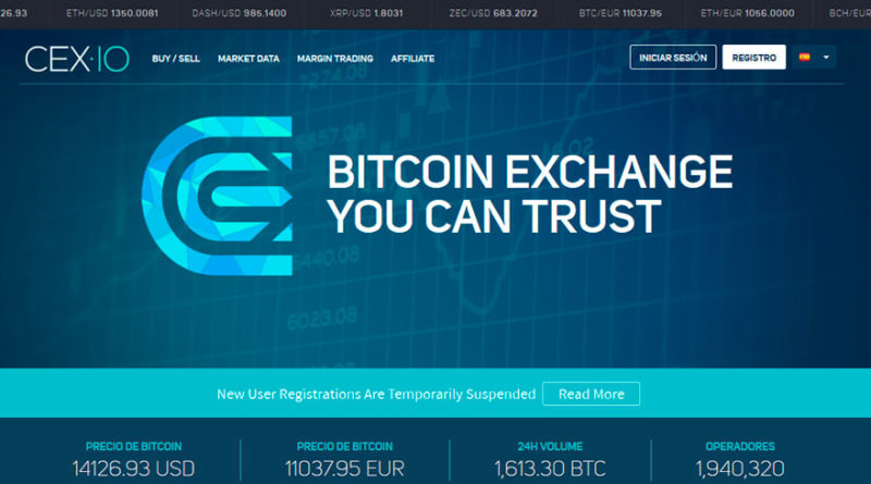 Cómo transferir Bitcoins de Cex.io a tu banco en minutos
