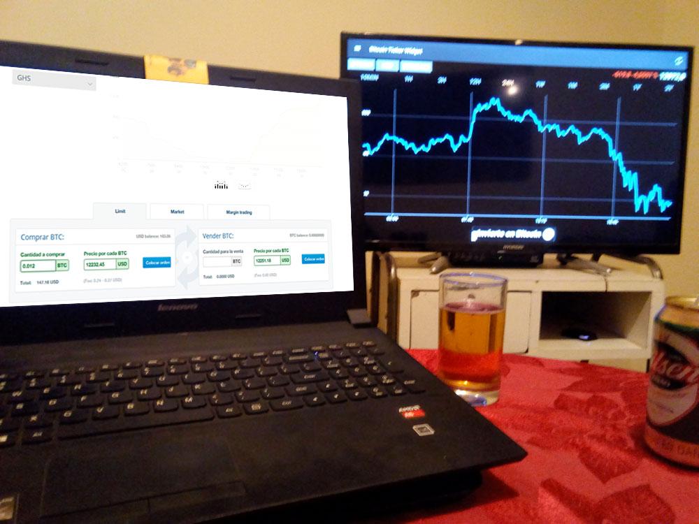 ganar dinero con Trading Bitcoin