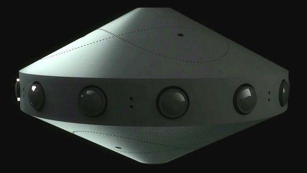 Cámara de realidad virtual de Facebook