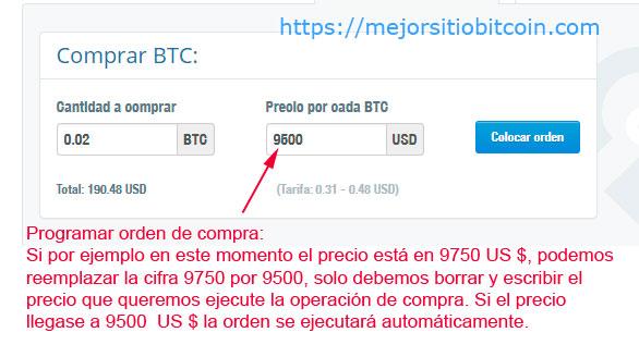 Como programar una compra automatica de Bitcoin en Cex