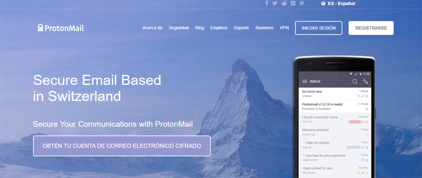 Los mejores proveedores de correo para empresas