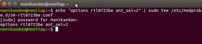 señal wifi débil en Ubuntu