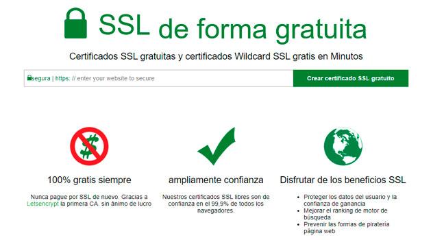Las mejores fuentes de certificado SSL gratis